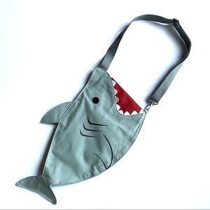 Handbags - Shark crossbody bag w/strap